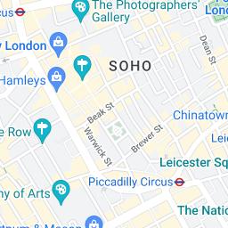 Central London Google Map.Buckingham Palace Google Maps 8 Bit Civilization