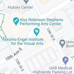Mapa de Google de UAB Hospital Highlands, hospital