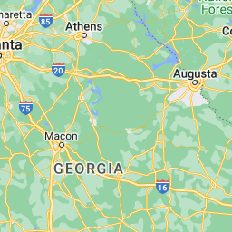 Flying Distance Between Atlanta And Clemson And Nearby Airports