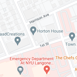 Mapa de Google de NYU Winthrop Hospital, hospital